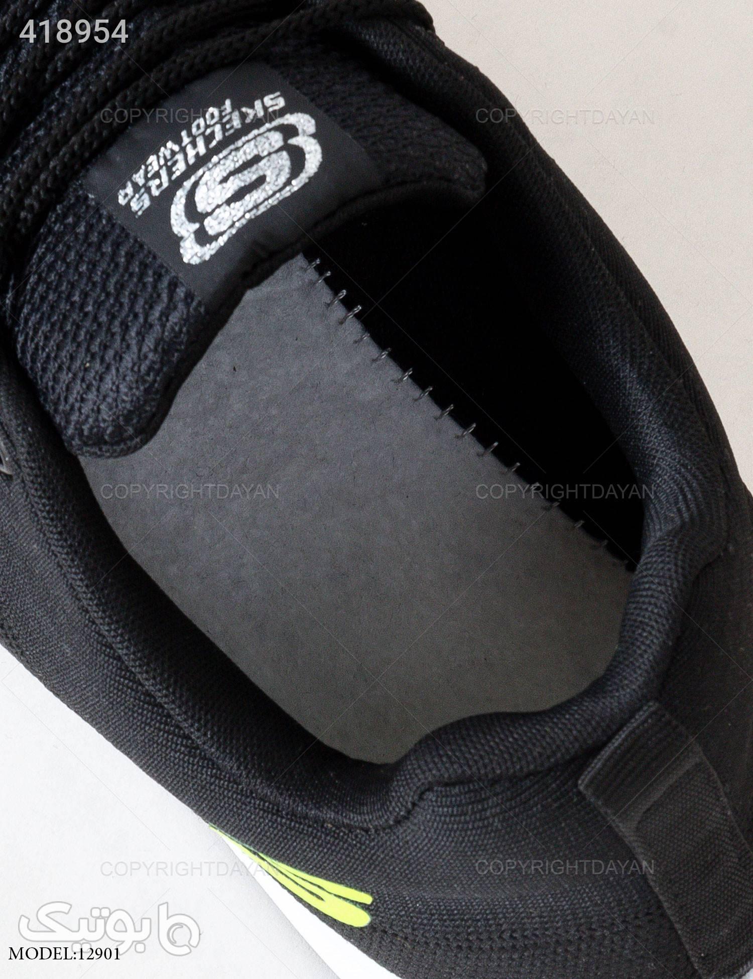 کفش مردانه Skechers مدل 12901 مشکی كتانی مردانه