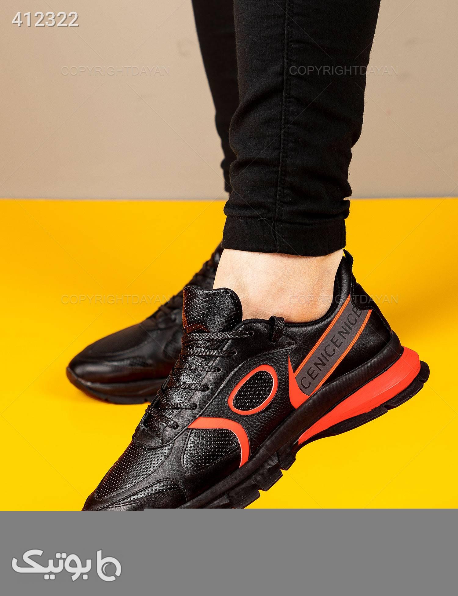 کفش مردانه Stark  مدل 12816 نارنجی كتانی مردانه