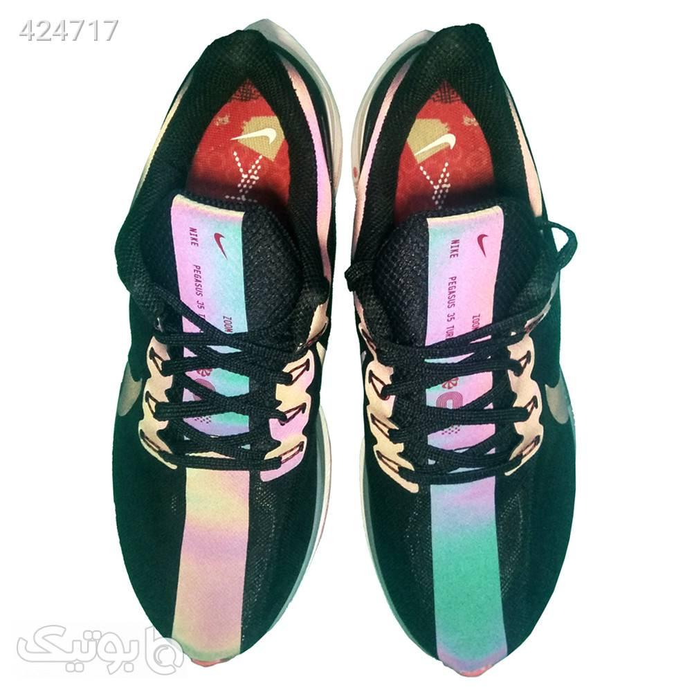کفش نایک زوم ایکس شبرنگ مردانه پگاسوس مشکی كتانی مردانه