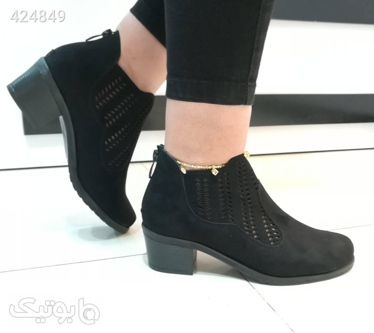 کفش بسیار شیک و پرفروش عالی مشکی كفش زنانه
