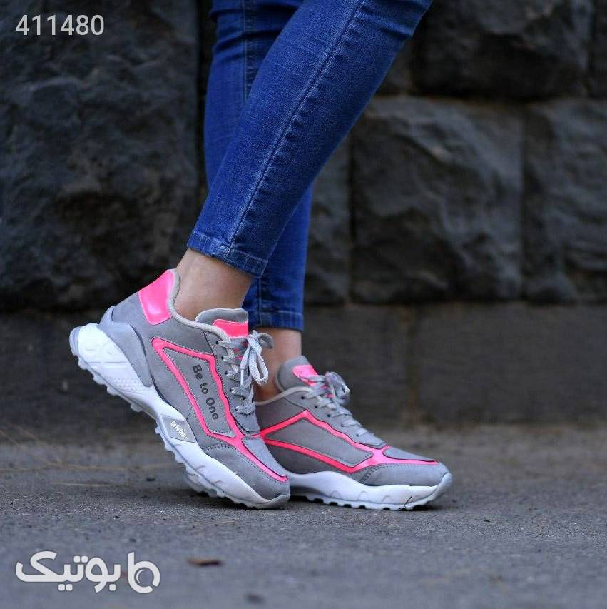 كفش دخترانه مدل BTO صورتی كفش زنانه