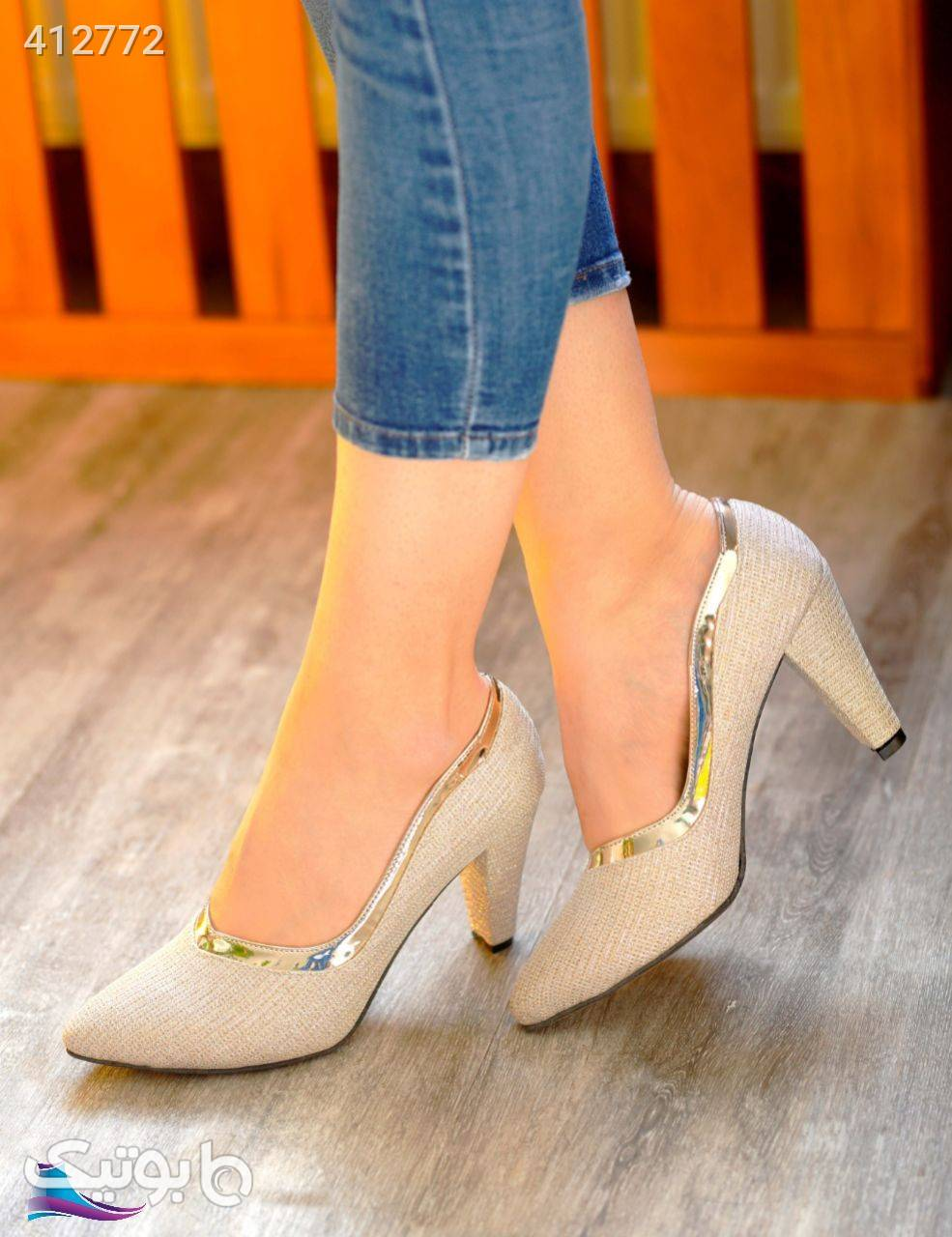 کفش مجلسی لمه مشکی كفش زنانه
