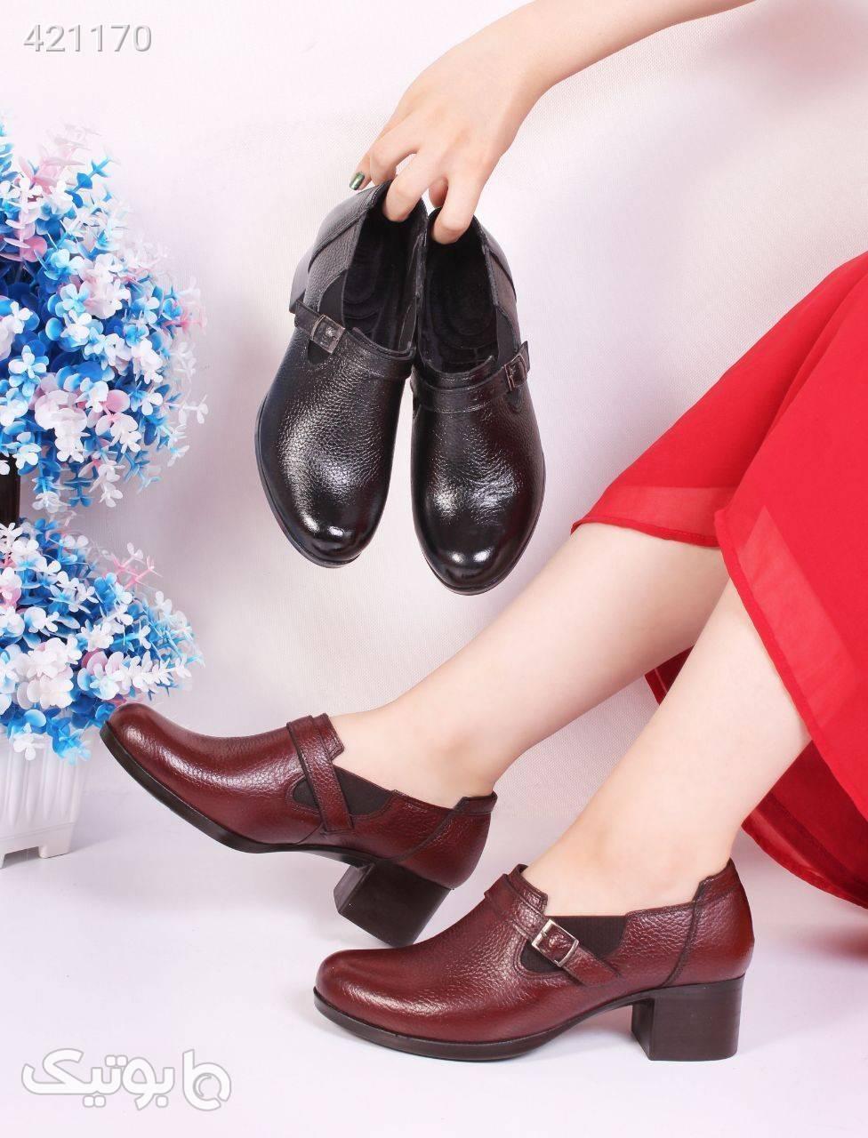کفش مدل پشت_ابری طبی سبک مشکی كفش زنانه