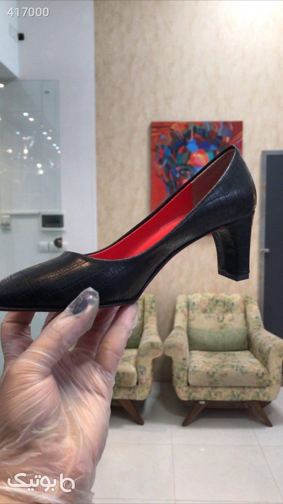 کفش مشکی كفش زنانه
