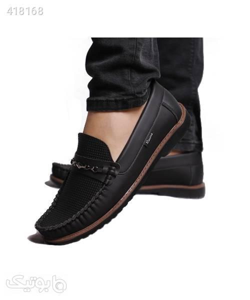 کفش کالج مردانه پروفروش طرح Loop مشکی كفش مردانه