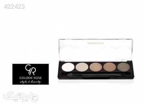 پالت سایه چشم حرفه ای 5 رنگ گلدن رز کد 113 Golden Rose Professional Palette Eyeshadow طوسی 99 2020