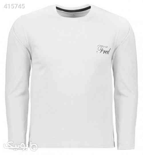 تی شرت مردانه فرد مدل t.f.003 سفید 98 2020