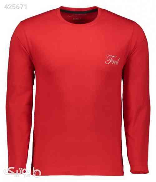 تی شرت مردانه فرد مدل t.f.005 قرمز 99 2020