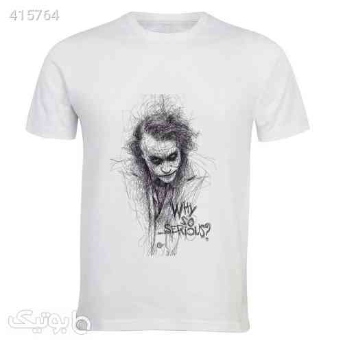 تی شرت آستین کوتاه مردانه زیزیپ کد 1292T سفید 98 2020