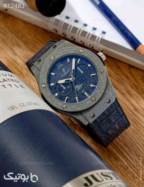 ساعت مچی Hublot مدل W2504 سورمه ای 98 2020
