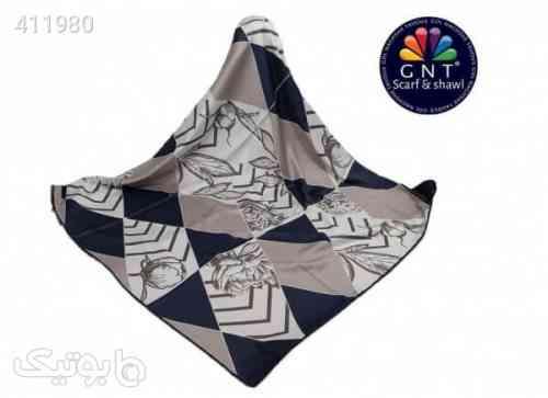 روسری ابریشمی زنانه جی ان تی GNT مدل N19-1329 کد 04 مشکی 98 2020
