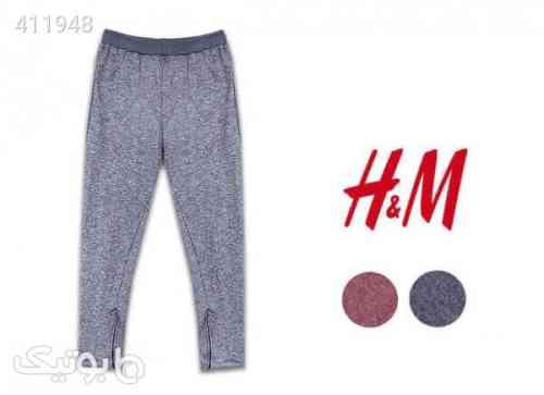 شلوار اسلش مردانه اچ اند ام H&M طوسی 98 2020