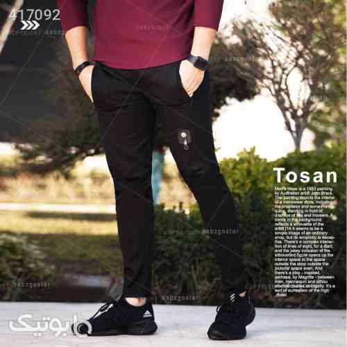 شلوار اسلش مردانه مدل Tosan مشکی 98 2020