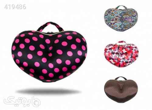 کیف لباس زیر طرح قلبی قهوه ای 98 2020