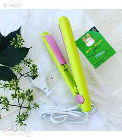 اتو مو مسافرتی رنگی (( کوچک )) سبز 98 2020