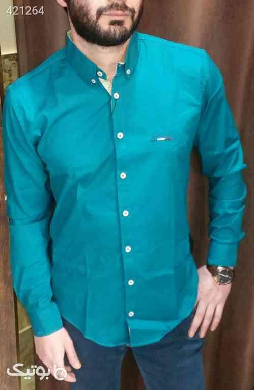 پیراهن اسپرت پوپلین  - پيراهن مردانه