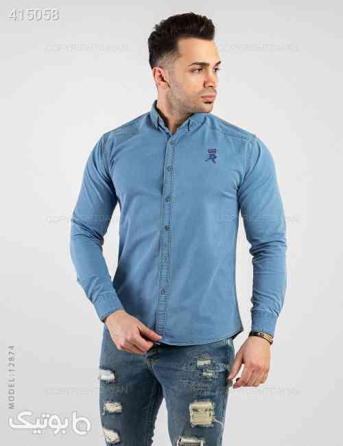 پیراهن مردانه Benson مدل P2874 آبی 98 2020