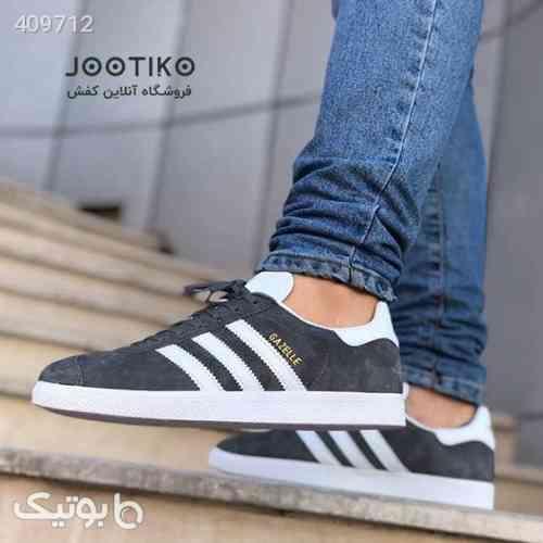 کفش آدیداس گزل adidas Gazelle خاکستری سفید 98 2020