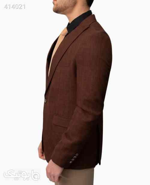 کت تک مردانه Rushel کد 9126 قهوه ای 98 2020