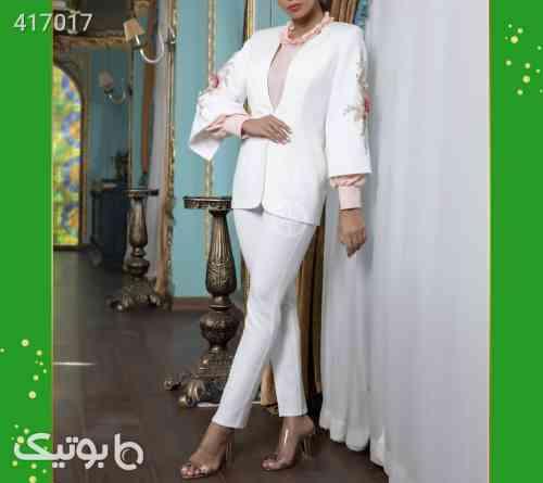 کت بلوز شلوار سفید 98 2020