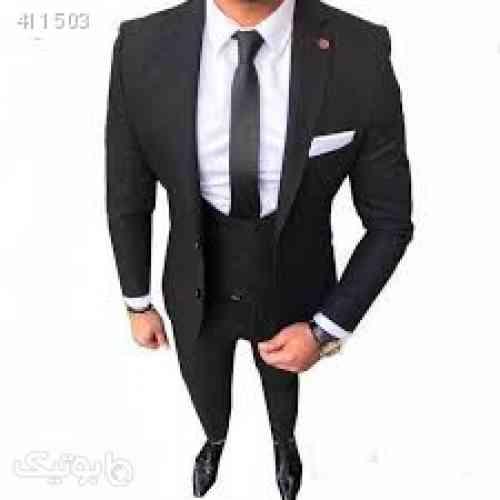 پک کت و شلوار مردانه و پیراهن مشکی 98 2020