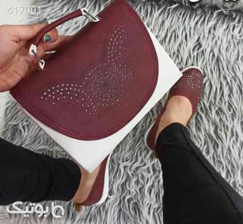 ست کیف و کفش قهوه ای 98 2020