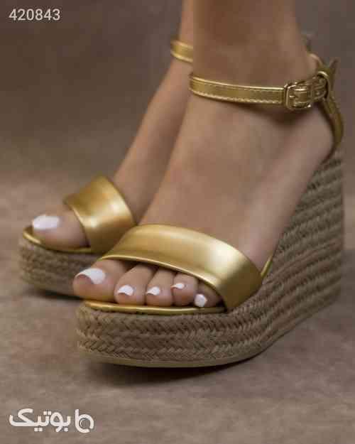 کفش زنانه هدیزاین مدل S22 زرد 99 2020