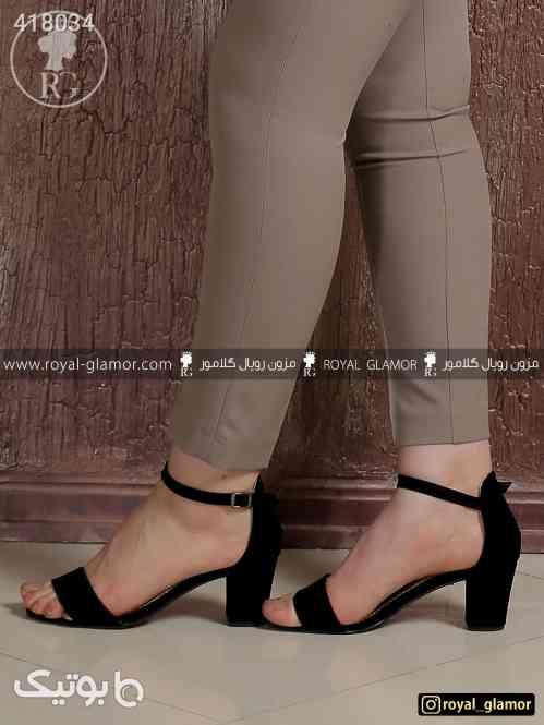 کفش زنانه پاشنه بلند مشکی کفش مجلسی - كفش زنانه