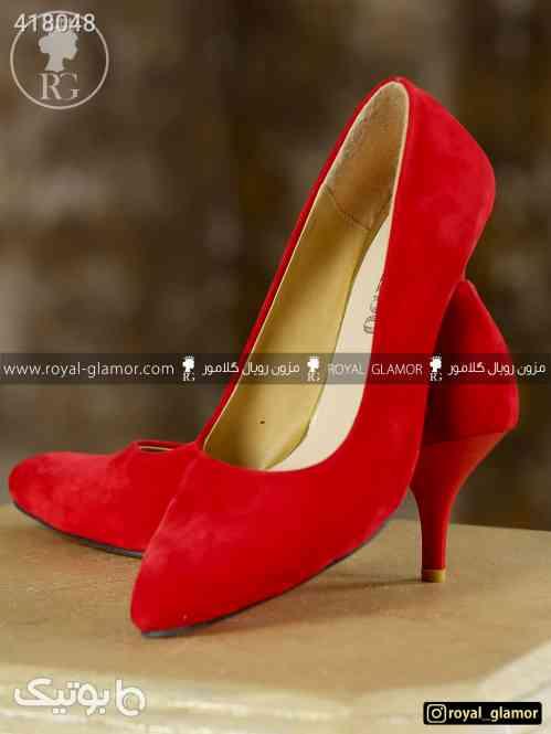 کفش مجلسی شیک زنانه و دخترانه قرمز 98 2020