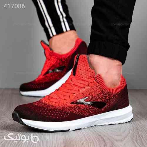 کفش مردانه Brooks مدل  12873  زرشکی 98 2020
