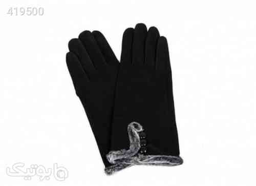 دستکش زنانه استرج مدل 1 مشکی 98 2020