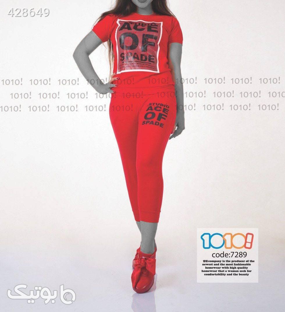 تیشرت شلوارک شیک کد 7289 مشکی تی شرت زنانه