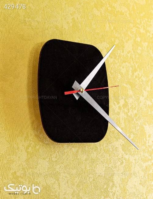 ساعت دیواری سه بعدی مدل RADO مشکی ساعت