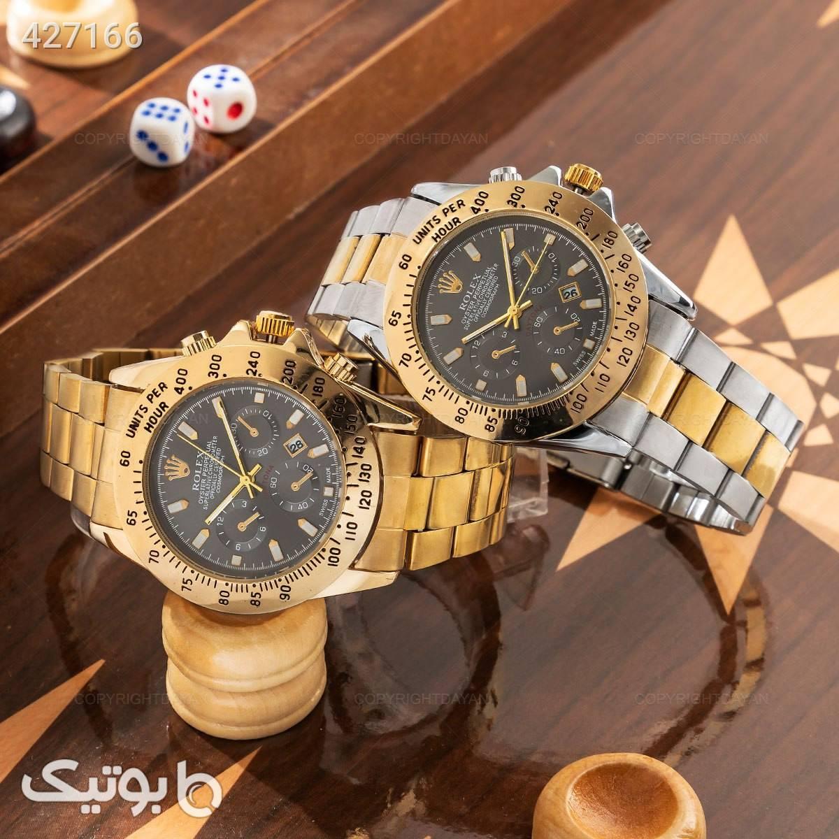 ساعت مچی مردانه Rolex مدل 12831   نقره ای ساعت