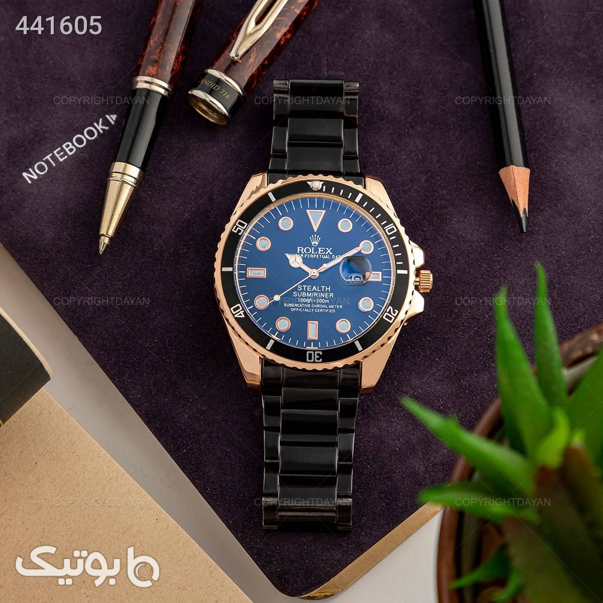 ساعت مچی مردانه Rolex مدل 13126 مشکی ساعت