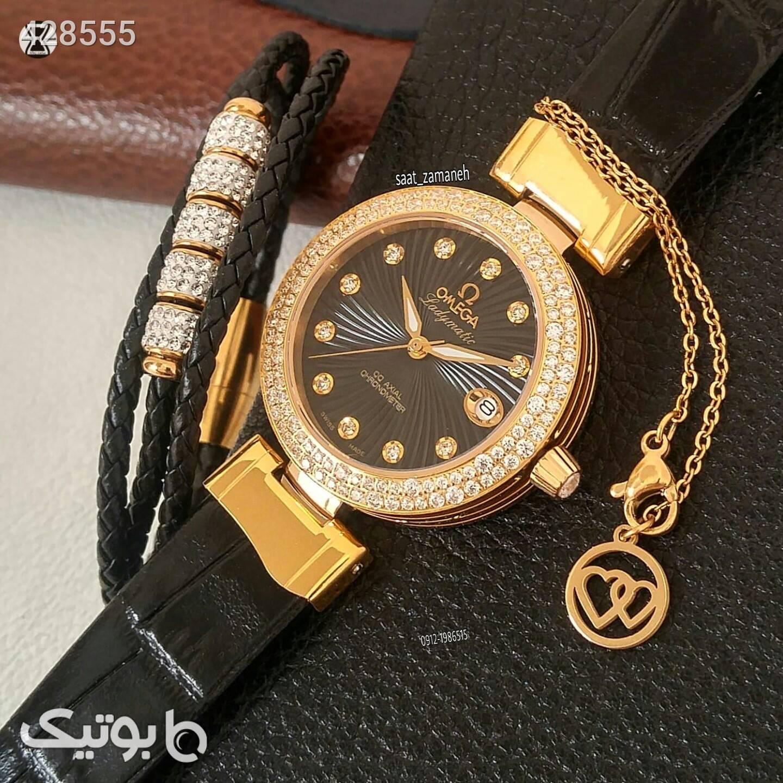 OMEGA زنانه زرد ساعت