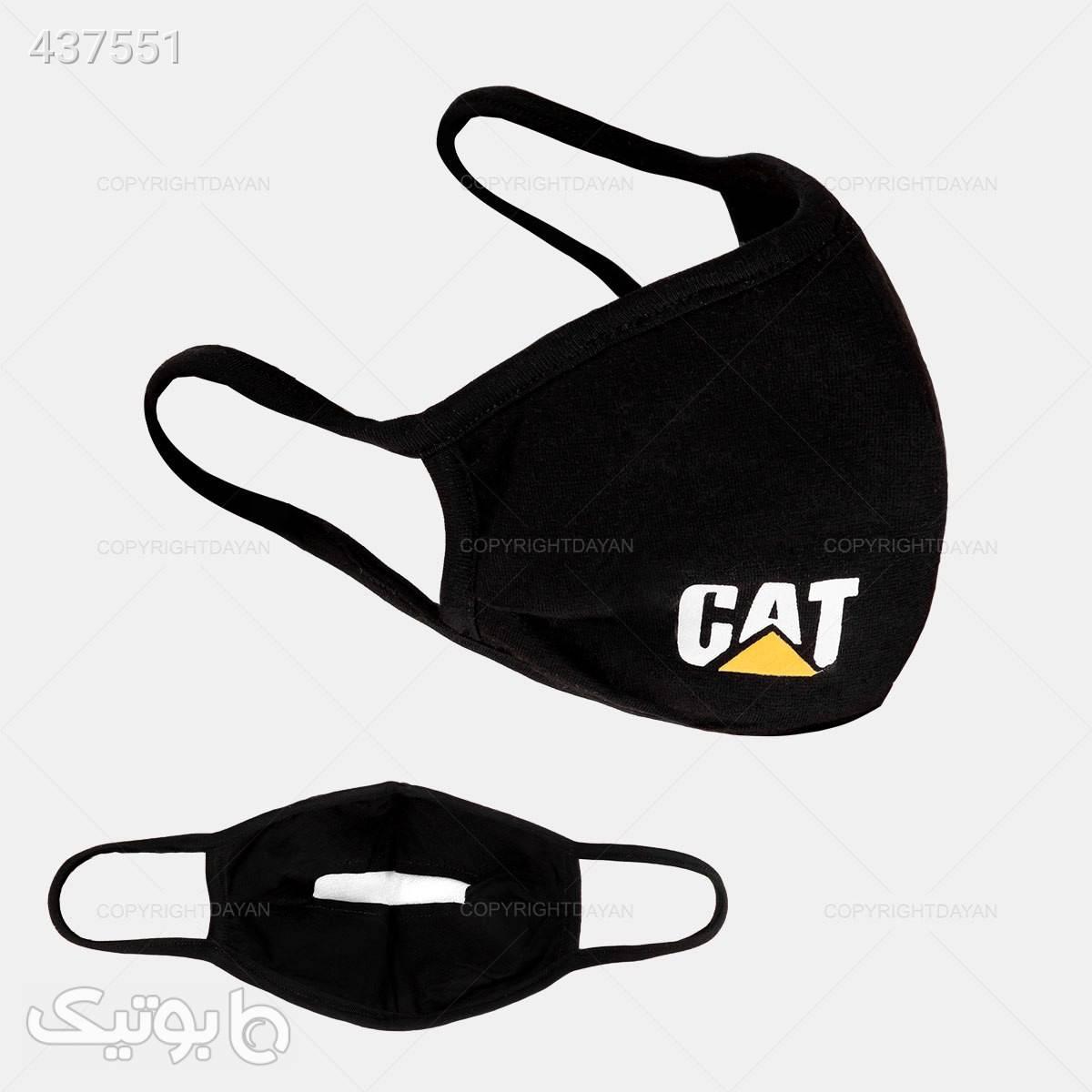پکیج 5 عددی ماسک پارچه ای مدل Cat  مشکی بهداشت و مراقبت بدن