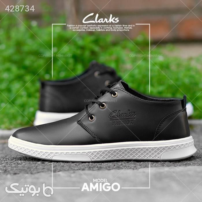 كفش مردانه مدل AMIGO مشكی مشکی كتانی مردانه