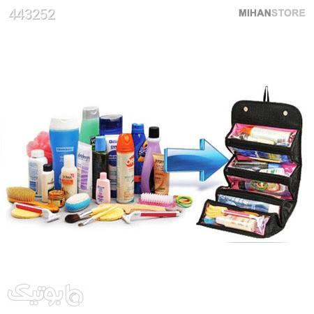 کیف رولی لوازم آرایش Roll N Go مشکی ابزار آرایشی