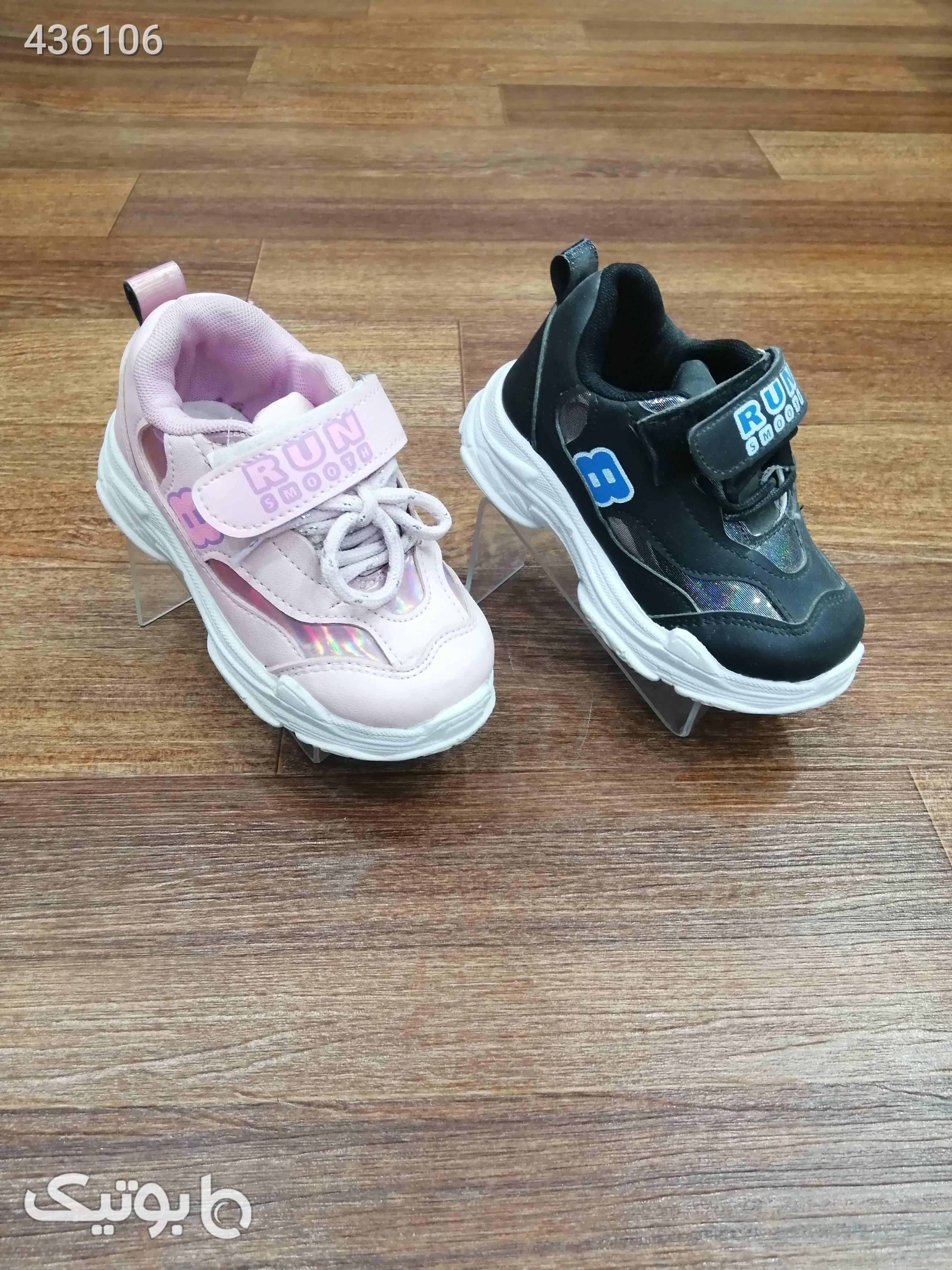 کفش اسپرت بچه گانه نقلی مشکی کیف و کفش بچگانه