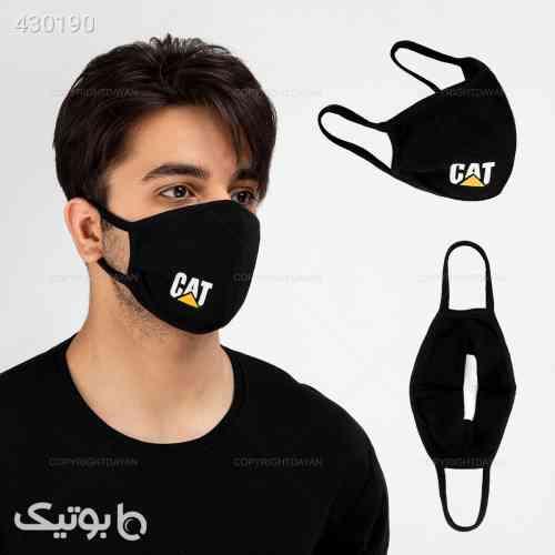 پکیج 5 عددی ماسک پارچه ای cat مشکی 99 2020