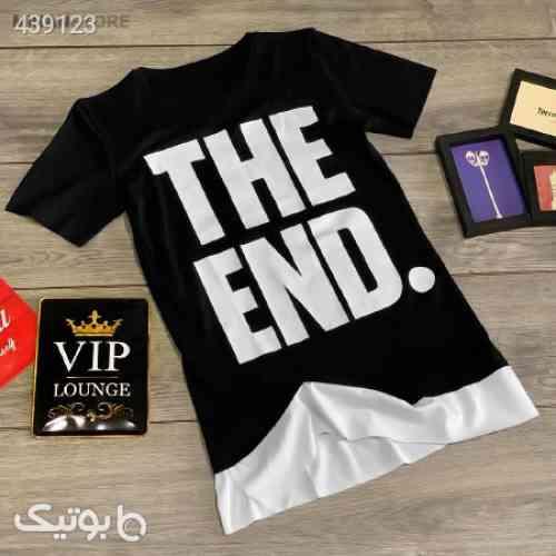 تی شرت مردانه The End مشکی 99 2020