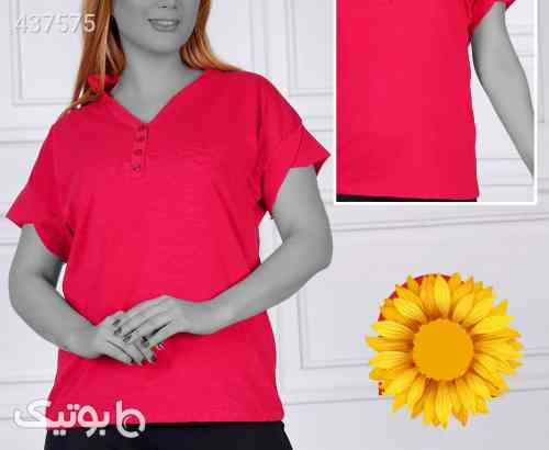 تی شرت ویسکوز پنبه کد ۶۵۶۲۰ زرد 99 2020