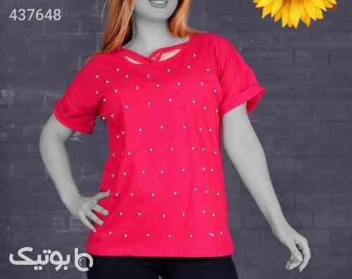 تی شرت ویسکوز پنبه کد ۶۵۷۲۰ مشکی 99 2020