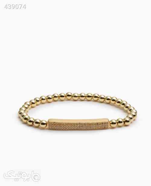 دستبند مهره ای زنانه کد 6440 صورتی 99 2020