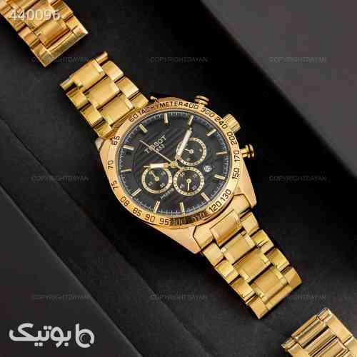 ساعت مچی مردانه Tissot مدل 13140 طلایی 99 2020
