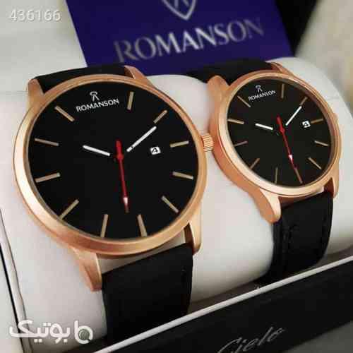 ست ساعت مچی ROMANSON مدل Yohann مشکی 99 2020