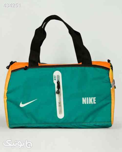 ساک ورزشی طرحدار نارنجی سبز سبز 99 2020