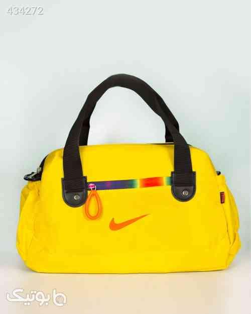 ساک ورزشی طرح نایک - زرد زرد 99 2020