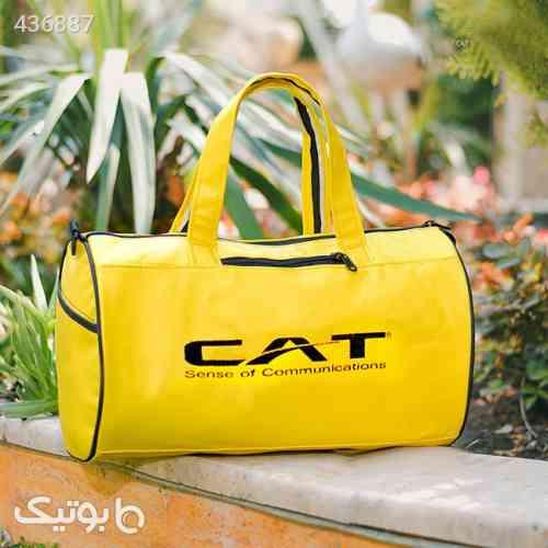 ساک ورزشی CAT مدل Simson زرد 99 2020